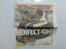 Chicago Sun-Times July 24 2009 Mark Buehrle's perfect game WHITE SOX 8C - $39.99