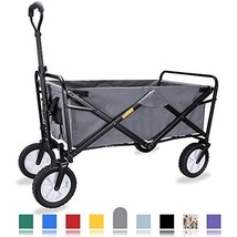WHITSUNDAY Collapsible Folding Garden Outdoor Park Utility Wagon Picnic ... - $86.20