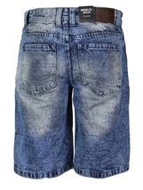 Brooklyn Xpress Men's Relaxed Fit Ripped Distressed Destroyed Jean Denim Shorts image 3