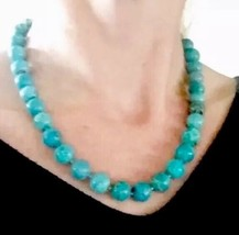Rare Outstanding! Antique or Vintage 70.80g! Big solid Turquoise beads n... - $4,018.50