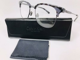 New Calvin Klein Collection CK8060 026 Charcoal Tortoise Eyeglasses 52mm w/Case - $59.35