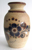 Tonala Handmade Ceramic Collectible Pottery Vase MEXICO by JC - $49.99