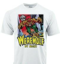 Werewolf By Night 2 Dri Fit graphic T-shirt moisture wick superhero SPF tee image 1