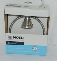Moen Y2686BN Banbury Collection Brushed Nickel Towel Ring Spot Resist image 4