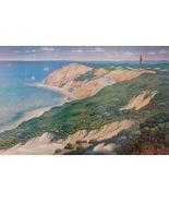 Marthas Vineyard Art Print Gay Head Phil Gidley Pencil Signed 01977 - $299.00