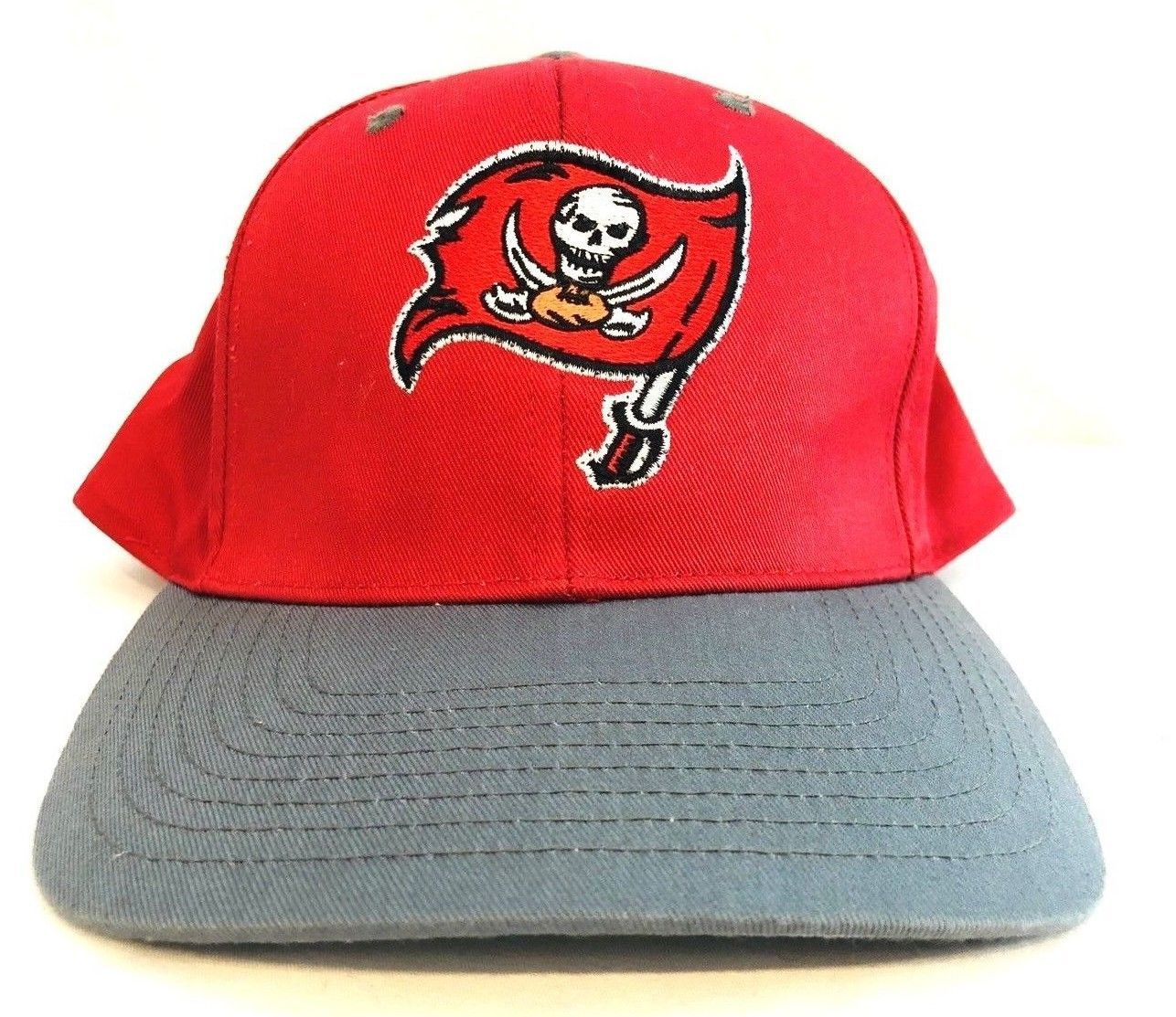 low priced edeab 88f28 Tampa Bay Buccaneers Hat Logo 7 Cap Snapback NFL Football Baseball Red  Light Up