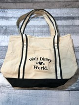Walt Disney World 1971 Vintage Canvas Tote Bag - $23.36