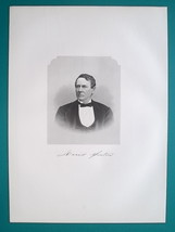 DAVID SINTON Ireland Born Iron Manufacturer - 1883 Superb Portrait Print - $16.20