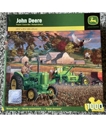 John Deere Bumper Crop 1000 Piece Jigsaw Puzzle 26 X 19 New Great Shape ... - £29.12 GBP