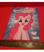 My Little Pony Jumbo Coloring Activity Book Hasbro Pink Horse Tear Share... - $1.89