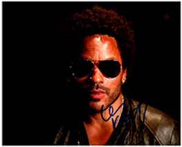 LENNY KRAVITZ  Authentic  Original  SIGNED AUTOGRAPHED PHOTO w/ COA 6026 - $40.00