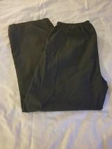 Women's Black Dickies Scrub Pants Size L with Drawstring - $9.85