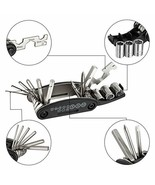 WOTOW 16 in 1 Multi-Function Bike Bicycle Cycling Mechanic Repair Tool Kit  - $4.99