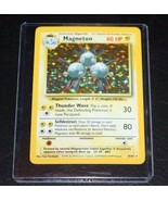 Pokemon Card 1999 Magneton Base Basic Set Holo Rare 9/102 - $17.99