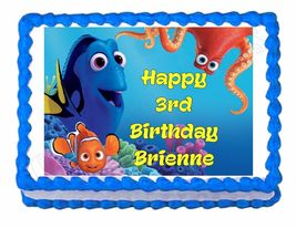 Finding Dory Party Edible Cake Image Cake Topper - $8.98+
