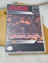 CASE ONLY Super Nintendo Spider-Man Venom Maximum Carnage Clear Clam Shell - $13.36