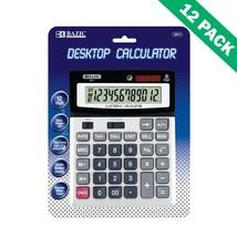 School Calculator, 12-digit Calculator Desktop For College (case Of 12) - $194.89