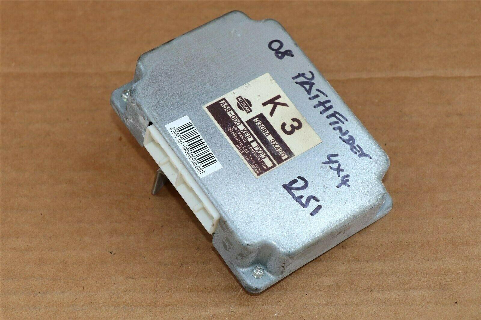 Nissan Pathfinder Xterra Frontier 4x4 Transfer Case Control Module 33084-3X42D