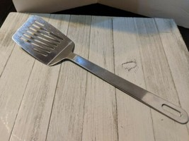"Stainless Steel Slotted Spatula Solid handle 13 3/4"" - €18,05 EUR"