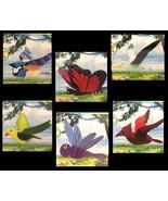 Yard Art Hanging OUTDOOR MOBILE Ornament Garden Decoration-Birds Bugs-WI... - $6.97