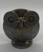 Vintage Metal Mid Century Modern Owl Figurine - $25.00