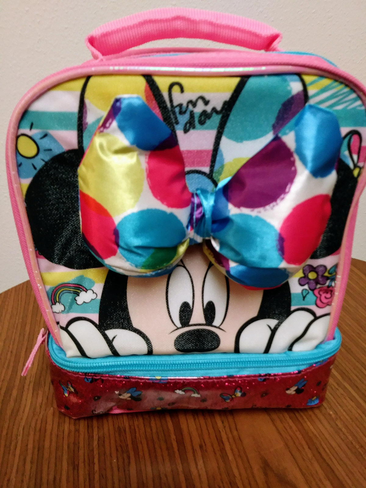 Disney Collection Minnie Mouse Insulated Lunch Box - Kids Lunch Bag