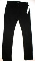 New Mens Designer Hudson Jeans 29 X 34 Straight Leg Byron Jet Black NWT - $140.00