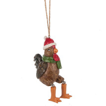 Rooster w/Dangling Legs Ornament - $12.95