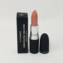 New Authentic MAC Cosmetics Powder Kiss Lipstick 302 Sweet, No Sugar - $25.75