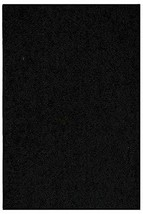 Bright House Solid Color Area Rugs Black - 1.5' X 2.25' - $22.50