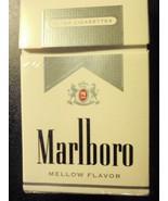 CIGARETTE BOX EMPTY PACK USA MARLBORO MELLOW Silver pack - $3.09