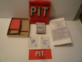 Vintage 1962 PIT Trading Card Game by Parker Brothers HTF - $11.88