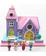1993 Polly Pocket Wedding Chapel Original  Vint... - $40.00