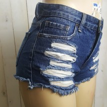 Forever 21 Distressed Jean Shorts Womens 27W EUC - $7.60