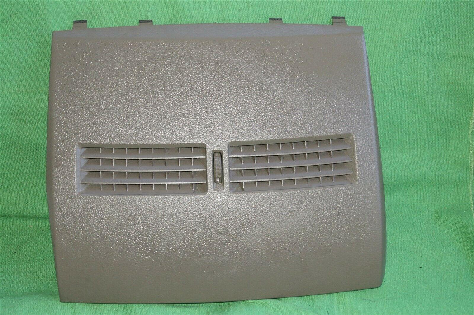 07-12 Nissan Versa Center Upper Dash Vent Bezel Trim Panel Tan/Brown