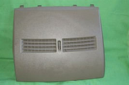 07-12 Nissan Versa Center Upper Dash Vent Bezel Trim Panel Tan/Brown image 1