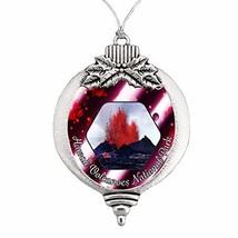 Hawaii Volcanoes National Park Christmas Ornament Choose Snowman Snowfla... - $14.84