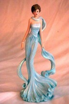 "Hamilton Collection 2007 Princess Of Our Hearts Princess Diana Figurine 8"" - $15.93"