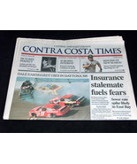 TIMES NEWSPAPER February 19 2001 Dale Earnhardt Dies In Daytona 500 Cras... - $18.79
