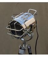 Vintage Floor Standard Lamp E27 Nautical Spotlight Focus Studio Searchli... - $82.83
