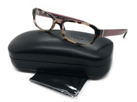 NEW COACH HC 6083 5356 PEACH CRYSTAL BERRY AUTHENTIC EYEGLASSES FRAMES 5... - $77.57