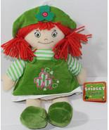 Allied BRIDGET IRISH RAGDOLL Green Dress RED YARN HAIR Plush DOLL TOY Ne... - $17.66