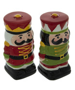 "Nutcracker Salt And Pepper Shaker approx. 2"" X 4"" - $8.00"