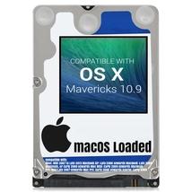 macOS Mac OS X 10.9 Mavericks Preloaded on Sata HDD - $12.99+