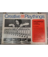 Vtg 1969 Creative Playthings Xylopipes In Box Xylophone - $24.99