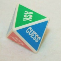 Guess What I am Game Replacement Die Dice Red Green Purple Orange Blue - $24.95