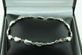 "TIFFANY & CO. Sterling Silver Elsa Peretti Bean Bracelet (7 1/2"") - $285.00"