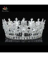 Men's King Crown Pageant Prom Accessories Full Circle Round Tiara  CT1827 - $150.93