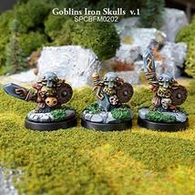 28mm Fantasy Miniatures: Goblins Iron Skulls v.1 & v.2 (6)
