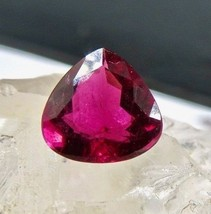 NATURAL PINK TOURMALINE RUBELLITE HEART CUT 2.84 CTS GEMSTONE FOR RING P... - $644.10